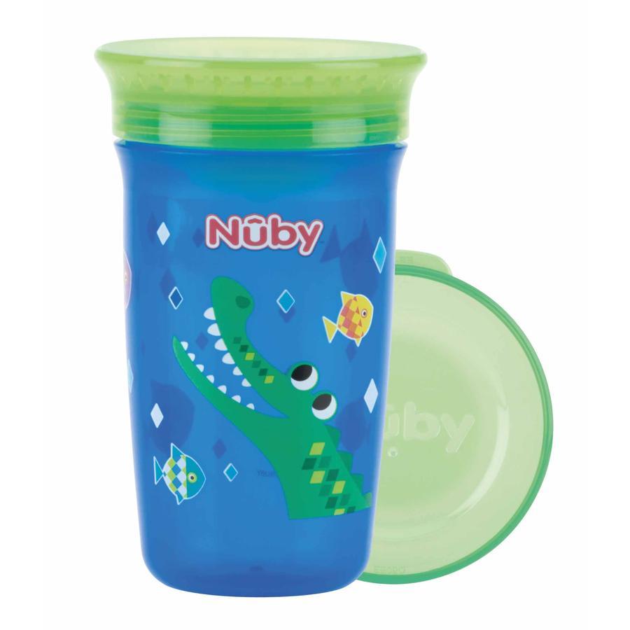 Nûby 360 ° Tritan sippy cup WONDER CUP 300 ml i blått