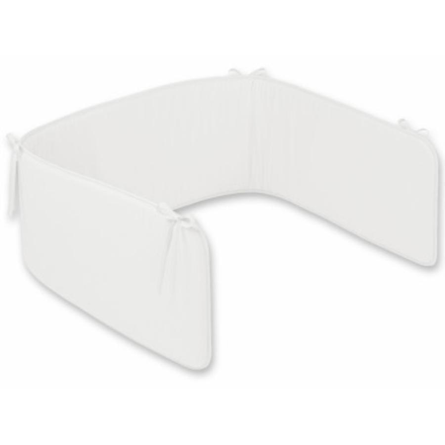 JULIUS ZÖLLNER Tour de lit Basic uni blanc (4010-0)