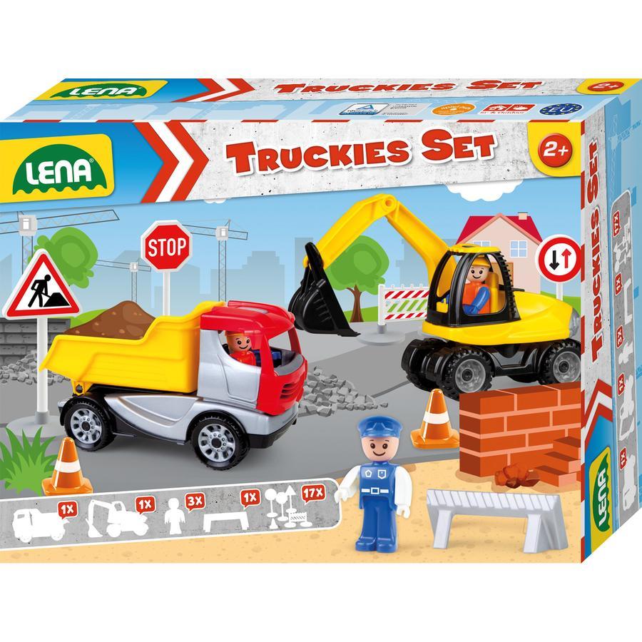 LENA® Truckies Set Baustelle