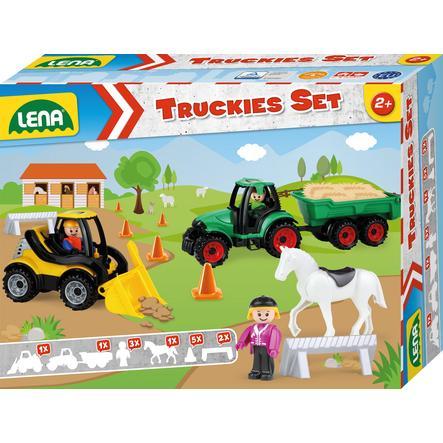 LENA ® lastebiler Set Farm