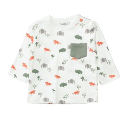 STACCATO Shirt rhino gemustert