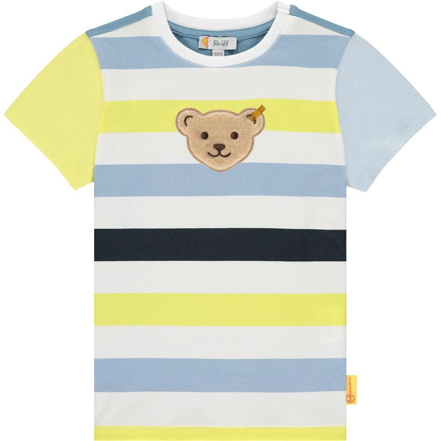 Steiff Camiseta b right  white
