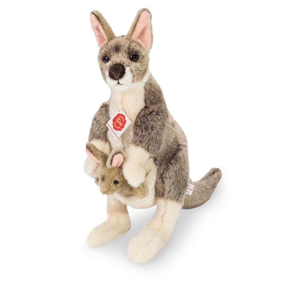 Teddy HERMANN® Känguru mit Baby 33 cm