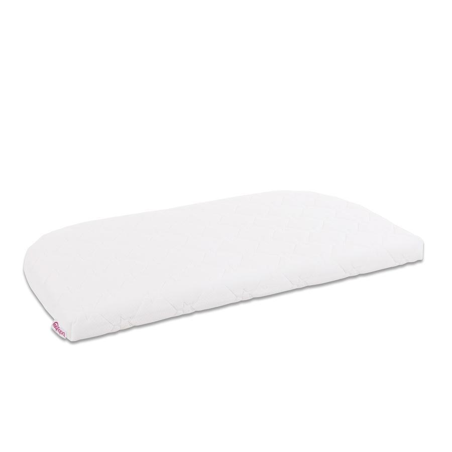 babybay ® Premium verwisselbare afdekking KlimaWave® voor model Original wit