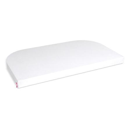 babybay® Jersey-Spannbetttuch Deluxe Organic Cotton für Modell Original weiß