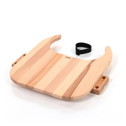 babybay® Tischplatte Hochstuhlumrüstsatz passend für Modell Original, Maxi, Comfort und Comfort Plus, Kernbuche geölt