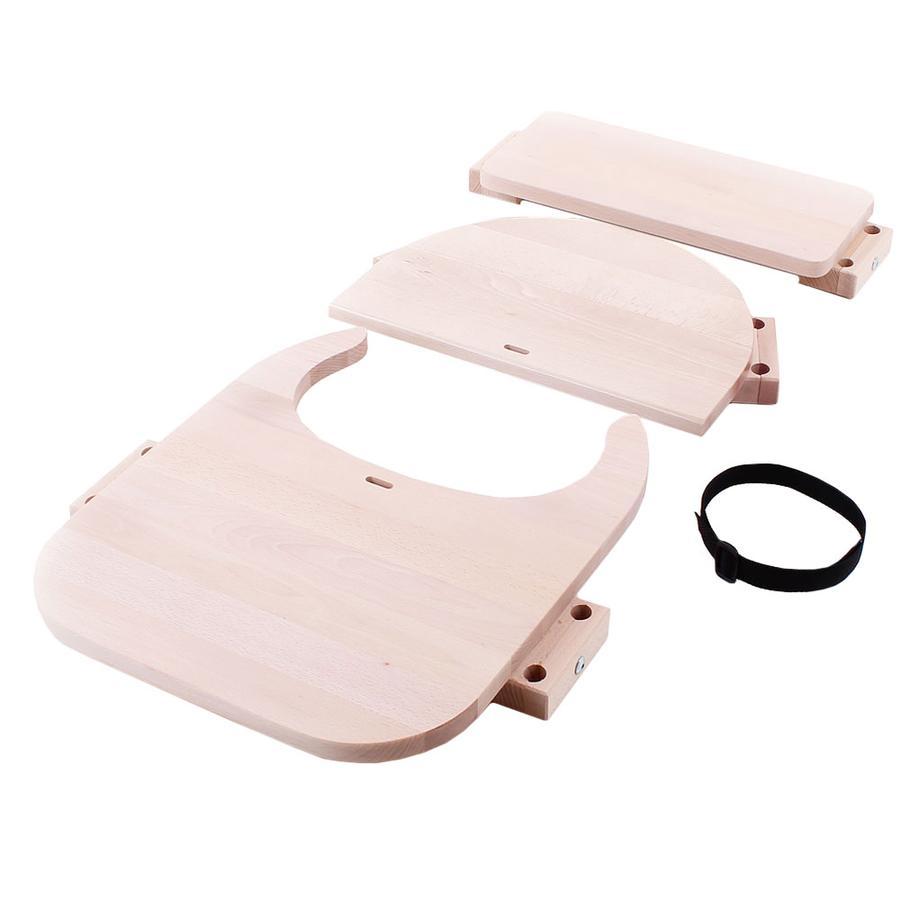 babybay ® Sada pro přestavbu vysoké židle vhodná pro model Original , Maxi, Comfort a Comfort Plus, přírodní neošetřená.