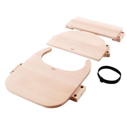 babybay® Hochstuhlumrüstsatz passend für Modell Original, Maxi,  Comfort und Comfort Plus, natur lackiert