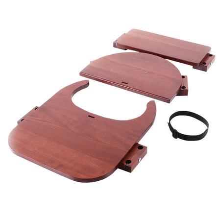 babybay® Hochstuhlumrüstsatz passend für Modell Original, Maxi,  Comfort und Comfort Plus, dunkelbraun lackiert