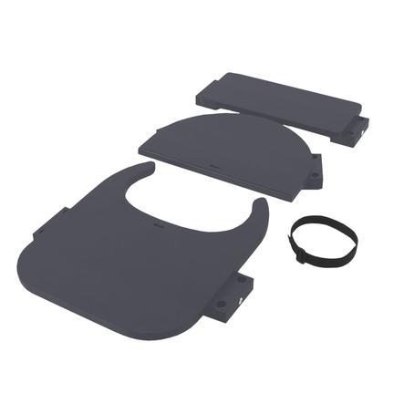 babybay® Hochstuhlumrüstsatz passend für Modell Original, Maxi,  Comfort und Comfort Plus, schiefergrau lackiert