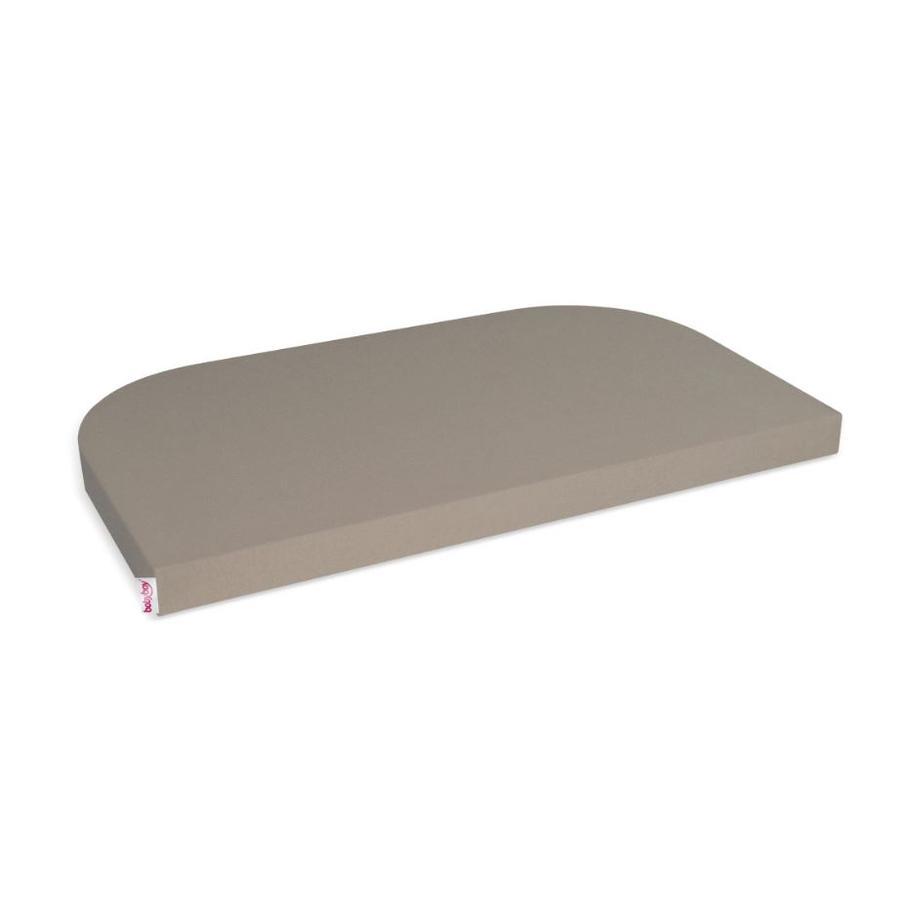 babybay ® Jersey prostěradlo Deluxe vhodné pro modely Maxi, Midi, Boxspring, Comfort a Comfort Plus, nugátová barva