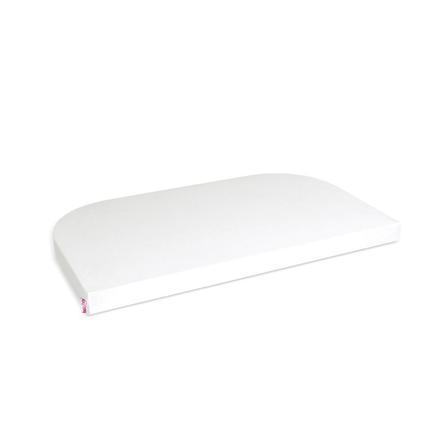 babybay® Jersey-Spannbetttuch Deluxe passend für Modell Maxi, Midi, Boxspring, Comfort und Comfort Plus, Off-White