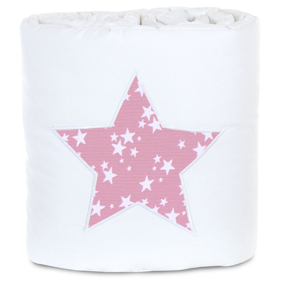 babybay ® Nestchen Piqué odpowiedni dla modelu Original , biały zastosowanie star berry stars biały
