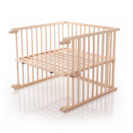 babybay ® Zestaw do przebudowy łóżeczka odpowiedni dla modelu Maxi i Boxspring, naturalny, nieobrobiony