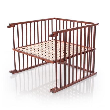 babybay® Kinderbett-Umbausatz passend für Modell Maxi und Boxspring, dunkelbraun lackiert