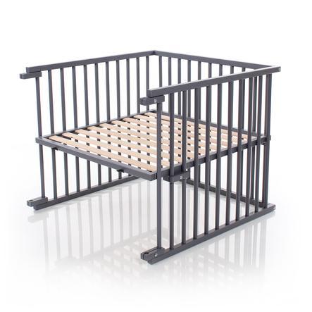 babybay® Kinderbett-Umbausatz passend für Modell Maxi und Boxspring, schiefergrau lackiert