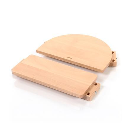babybay ® Børnestol ombygningssæt passer til model Original , Maxi, Comfort og Comfort Plus, naturlig finish