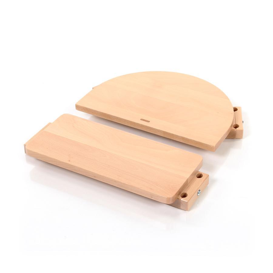 babybay® Kinderstuhlumrüstsatz passend für Modell Original, Maxi, Comfort und Comfort Plus, natur lackiert