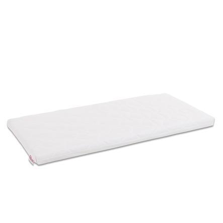 babybay ® Premium verwisselbare hoes Class ic Cotton Soft geschikt voor model Midi en Mini, wit