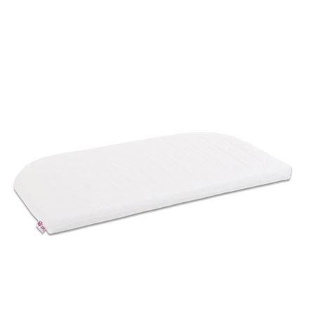 babybay® Housse de remplacement pour lit cododo Maxi, Boxspring, Comfort Plus premium Classic Cotton Soft blanc 89x49 cm
