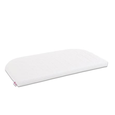babybay ® Premium verwisselbare hoes Class ic Cotton Soft geschikt voor model Maxi, boxspring en Comfort Plus, wit