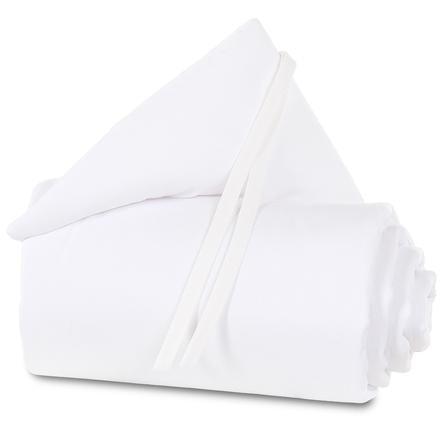 babybay ® Nestchen Piqué geschikt voor model Maxi, Boxspring, Comfort en Comfort Plus, wit