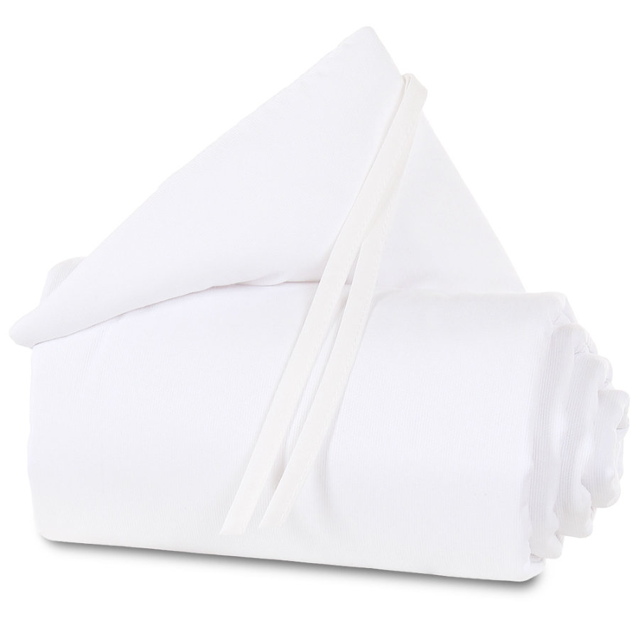 babybay ® Nestchen Piqué adecuado para el modelo Maxi, Boxspring, Comfort y Comfort Plus, blanco