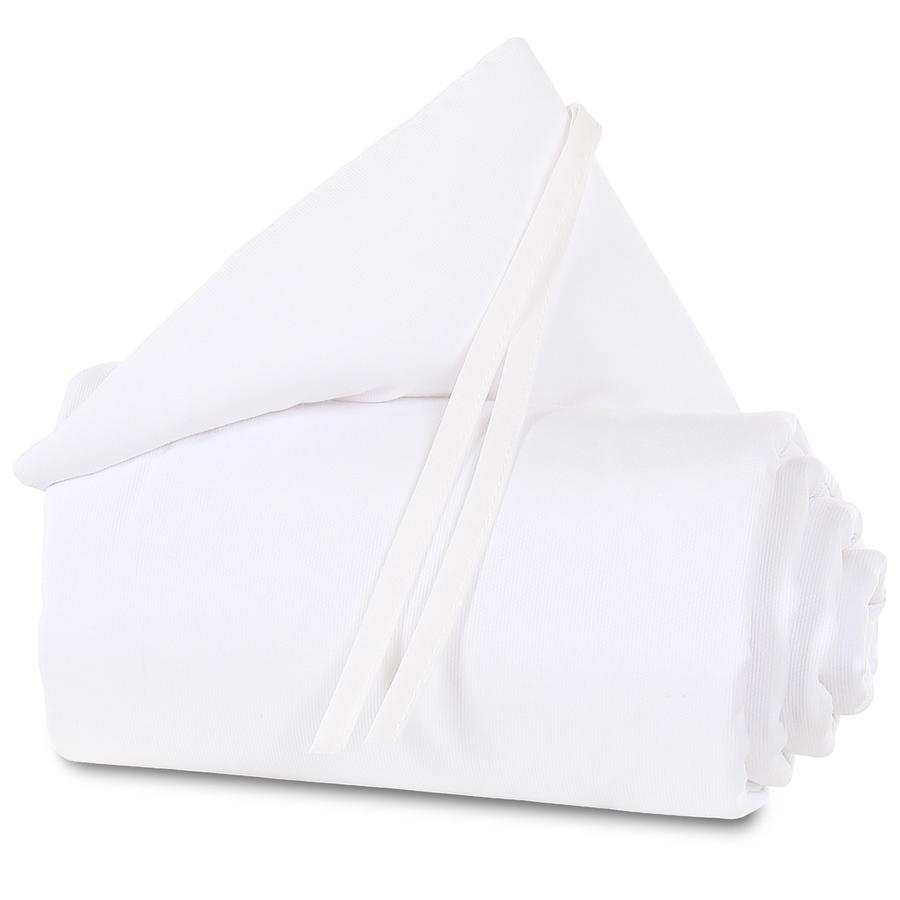 babybay® Tour de lit enfant piqué pour Maxi, Boxspring, Comfort blanc 168x24 cm