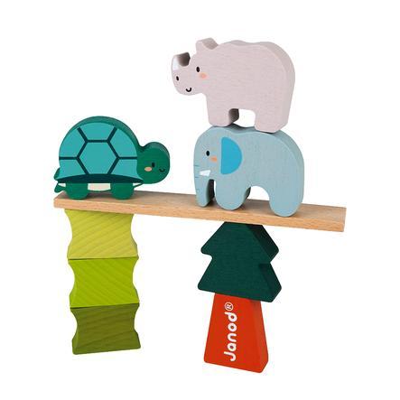 """Janod-WWF® Stapel-/ Geschicklichkeitsspiel """"Tiere"""""""
