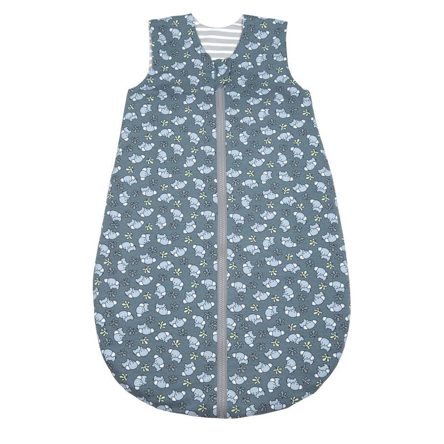odenwälder Śpiwór letni Jersey Organic Cotton space niebieski 70 cm - 90 cm