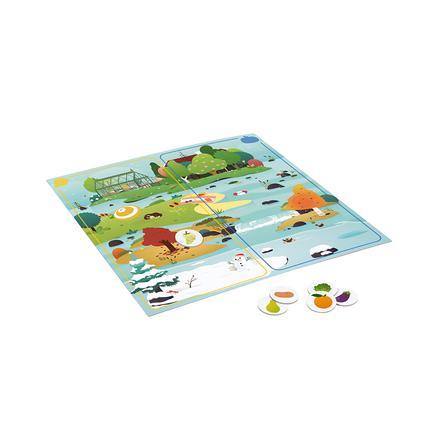 """Janod-WWF® Geschwindigkeitsspiel """"Jahreszeiten Obst & Gemüse"""""""