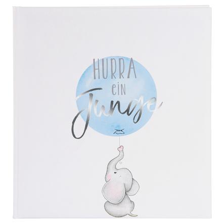 goldbuch Babyalbum - Hurra - ein Junge blau