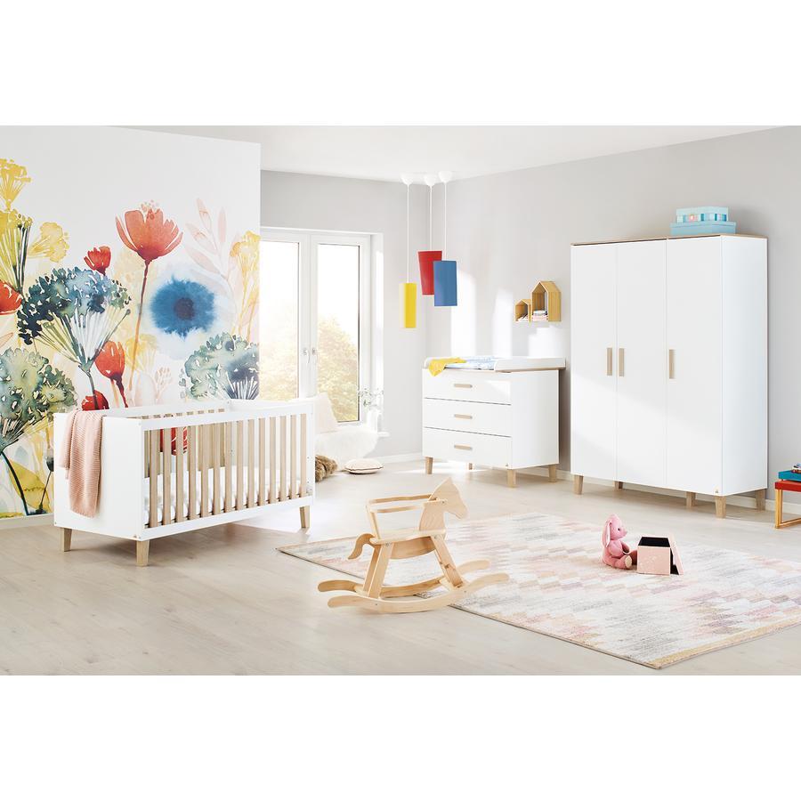 Pinolino Kinderzimmer Lumi 3-türig breit
