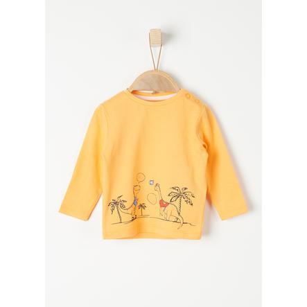 s. Olive r Chemise à manches longues light orange