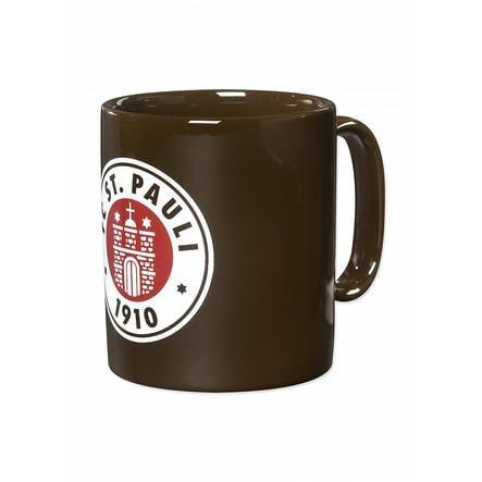 Logotipo del club de copa St. Pauli marrón