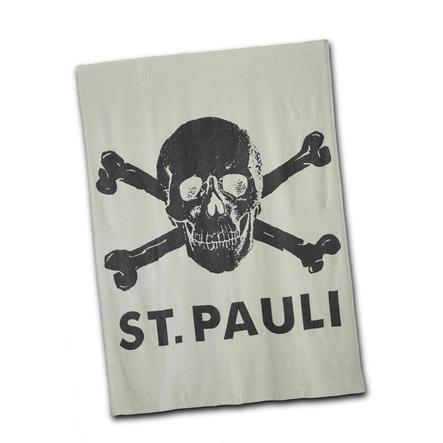 Couverture St. Pauli Crâne Gris
