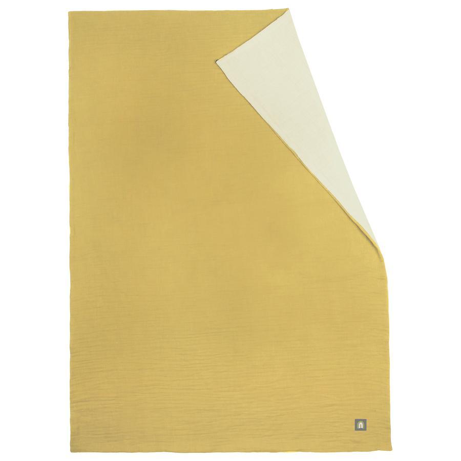 odenwälder Muslin sommar muslin filt senap 70 x 100 cm
