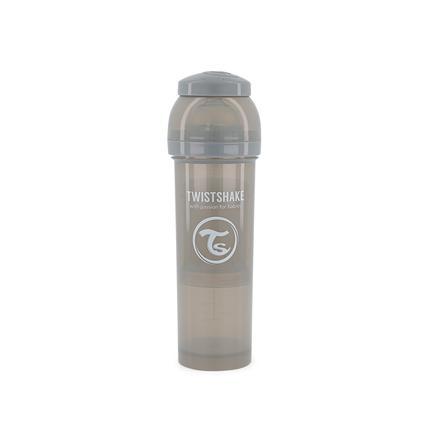 TWISTSHAKE Babyflasche Anti-Kolik 330 ml pastell grau