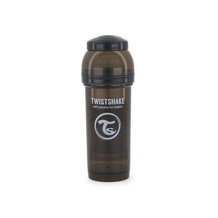TWISTSHAKE Biberon anti-coliques PP noir 260 ml
