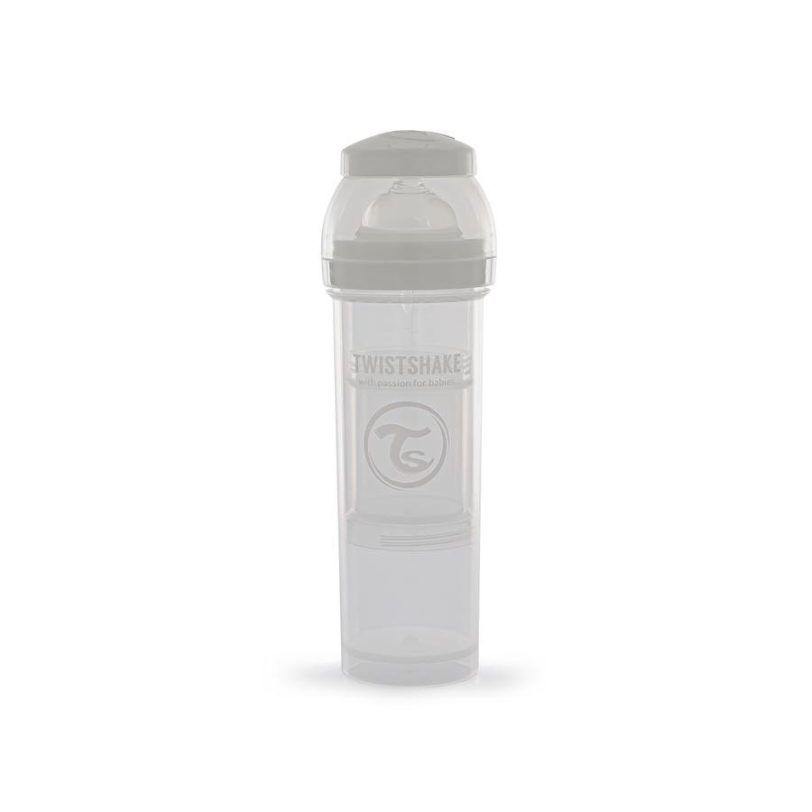 TWIST SHAKE Babyflaske antikolikk 330 ml i hvitt