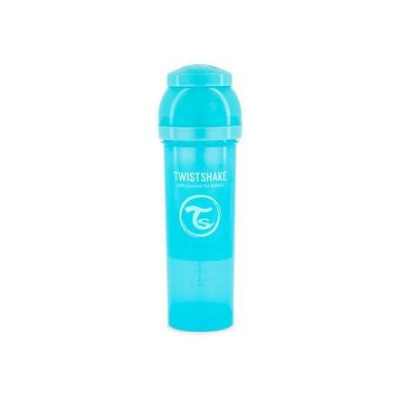 TWIST SHAKE  Biberón anti cólico 330 ml en azul pastel
