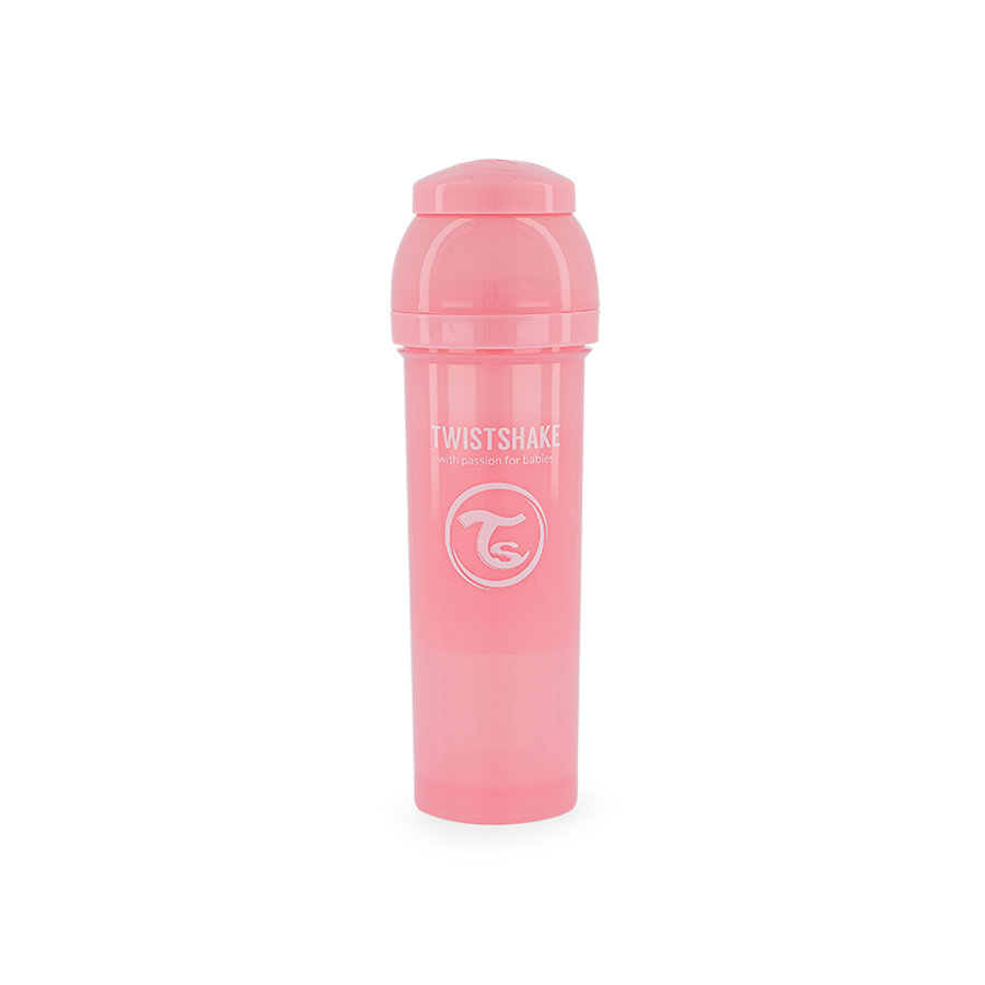 TWISTSHAKE Babyflasche Anti-Kolik 330 ml in pastell pink