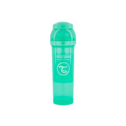 TWIST SHAKE Nappflaska antikolik 330 ml i pastellgrön
