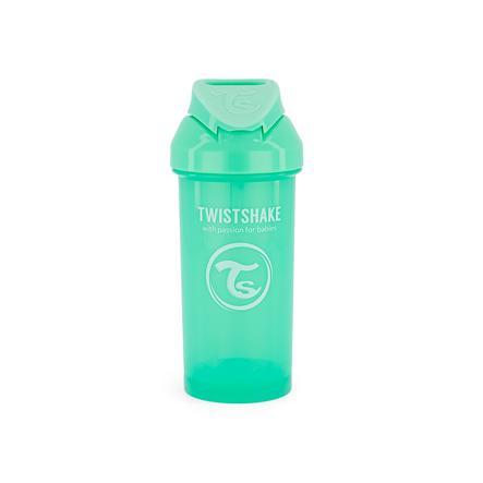 TWISTSHAKE Strohhalmbecher 360 ml in pastell grün