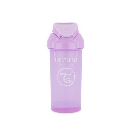 TWISTSHAKE Strohhalmbecher 360 ml in pastell lila