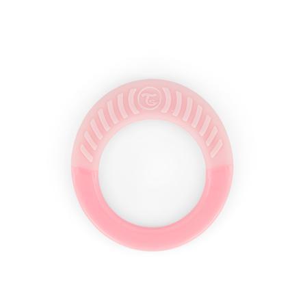 TWISTSHAKE Beißring ab dem 1. Monat in pastell pink