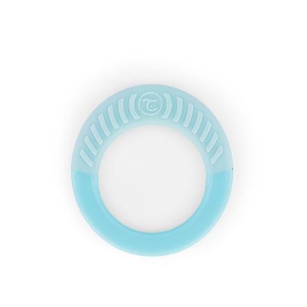 TWISTSHAKE Beißring ab dem 1. Monat in pastell blau