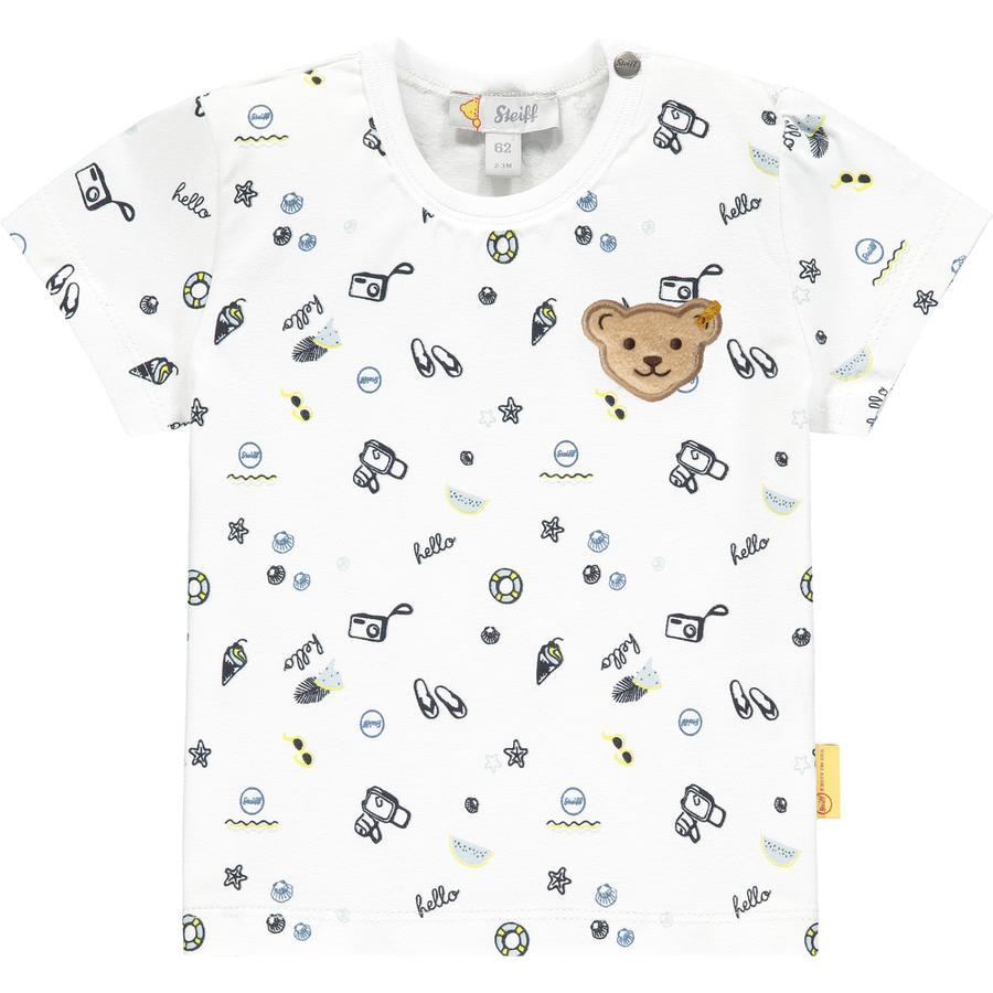 Steiff T-skjorte b høyre hvit