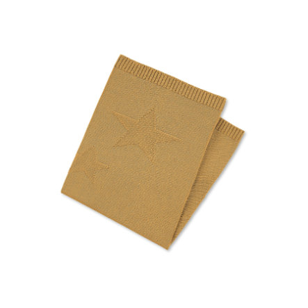 Sterntaler pletená mazlící deka Terry Bear Baylee střední žlutá 100 x 75 cm