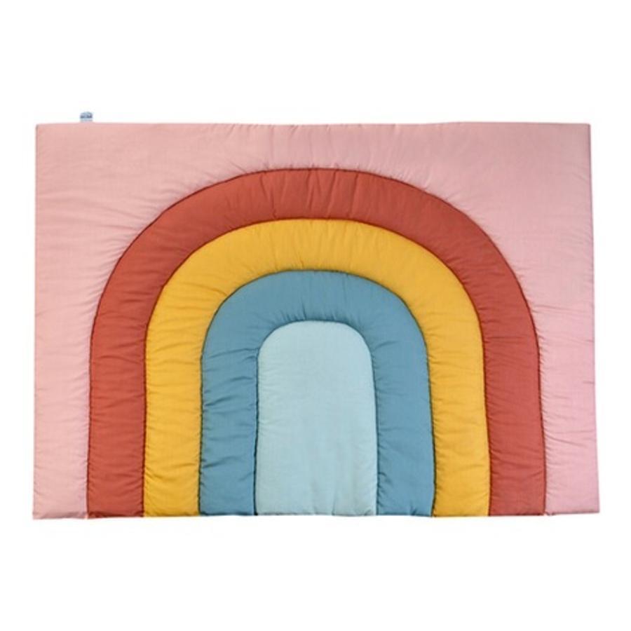 JULIUS ZÖLLNER Krabbeldecke Rainbow Colours 95 x 135 cm